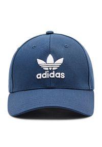 Adidas - Czapka z daszkiem adidas - Trefoil Baseball Cap GN4888 Crenav/White. Kolor: niebieski. Materiał: materiał, bawełna