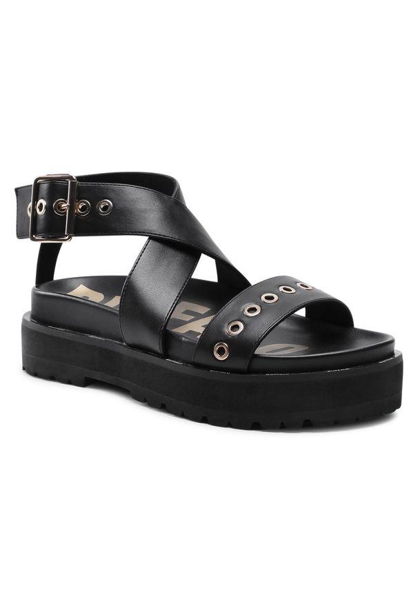 Czarne sandały Buffalo