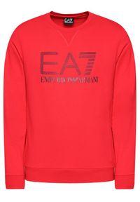EA7 Emporio Armani Bluza 3KPM60 PJ05Z 1451 Czerwony Regular Fit. Kolor: czerwony