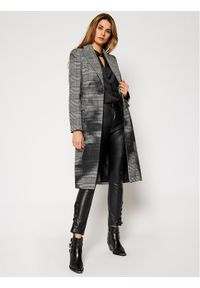 Szary płaszcz przejściowy Guess