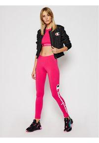 Champion Legginsy Large Script Logo 112857 Różowy Athletic Fit. Kolor: różowy #3