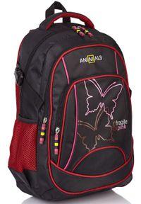 Różowy plecak ASTRA