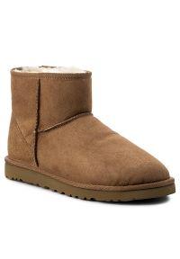 Brązowe buty zimowe Ugg z cholewką, klasyczne