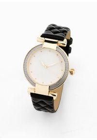 Czarny zegarek bonprix elegancki