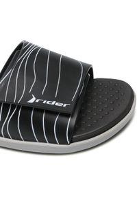 Rider - Klapki RIDER - Pool II Slide Fem 83092 Grey/Black 22544. Kolor: czarny