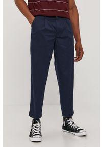 Niebieskie spodnie Levi's® gładkie, biznesowe