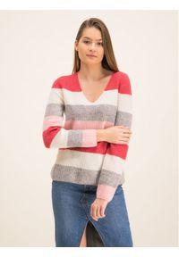 Sweter klasyczny Marc O'Polo polo, w kolorowe wzory