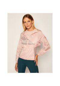 Różowa kurtka przejściowa Asics