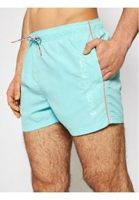 Pepe Jeans Szorty kąpielowe New Brian PMB10265 Zielony Regular Fit. Kolor: zielony