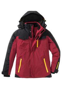Czerwona kurtka bonprix na zimę