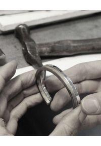 GAS BIJOUX - Srebrna bransoletka Jonc. Materiał: srebrne. Kolor: srebrny. Wzór: napisy