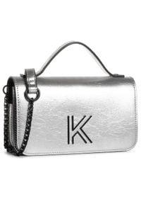 Srebrna torebka Kendall + Kylie wizytowa