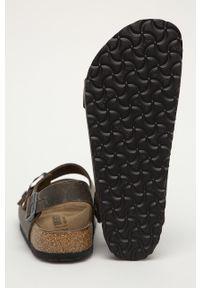Zielone sandały Birkenstock gładkie