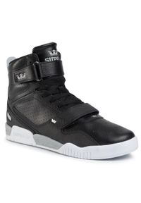 Czarne sneakersy Supra