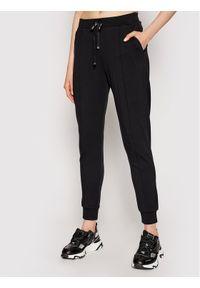 Czarne spodnie dresowe Liu Jo