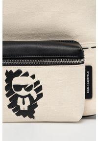 Karl Lagerfeld - Plecak. Kolor: beżowy