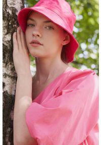 medicine - Medicine - Sukienka bawełniana Divine Love 2. Kolor: różowy. Materiał: bawełna. Typ sukienki: rozkloszowane