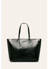 Czarna shopperka Calvin Klein na ramię