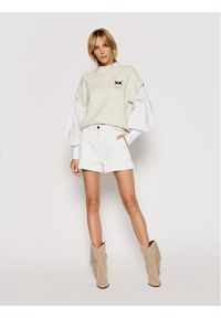 Pinko Sweter Anatomia 1N1379 Y7MD Beżowy Regular Fit. Kolor: beżowy