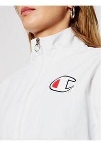 Champion Kurtka przejściowa Zip-Through 112658 Biały Custom Fit. Kolor: biały