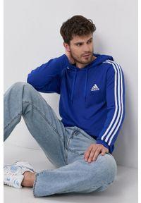 Adidas - adidas - Bluza. Kolor: niebieski