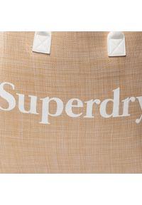 Beżowa shopperka Superdry klasyczna