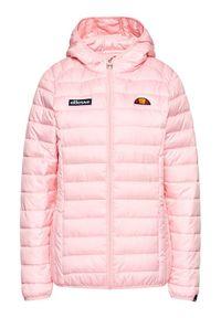 Różowa kurtka zimowa Ellesse
