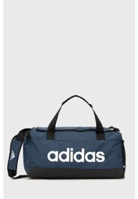 Adidas - adidas - Torba. Kolor: niebieski. Materiał: materiał. Wzór: nadruk