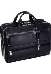 "Torba MCKLEIN Skórzana torba na laptopa 15,6"" Mcklein Hubbard 88435. Materiał: skóra"