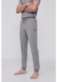 Emporio Armani Underwear - Emporio Armani - Spodnie piżamowe. Kolor: szary. Materiał: materiał