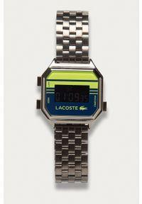 Lacoste - Zegarek 2020134. Kolor: srebrny. Materiał: materiał