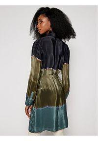 Zielona sukienka koszulowa Desigual
