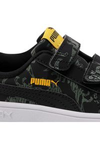 Czarne półbuty Puma z cholewką, na rzepy