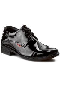 Czarne buty komunijne Zarro casualowe, na co dzień