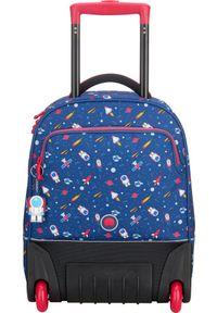 Niebieski plecak Delsey