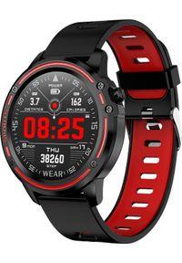 Smartwatch Pacific 14-2 Czerwony. Rodzaj zegarka: smartwatch. Kolor: czerwony