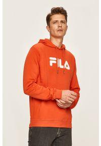 Fila - FILA - Bluza 681090. Okazja: na co dzień. Kolor: pomarańczowy. Materiał: materiał. Styl: casual
