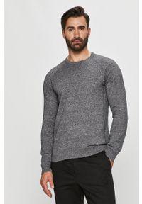 Only & Sons - Sweter. Okazja: na co dzień. Kolor: szary. Materiał: dzianina. Długość rękawa: długi rękaw. Długość: długie. Wzór: melanż. Styl: casual