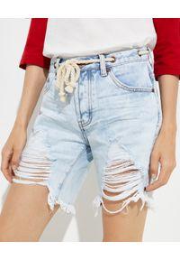 ONETEASPOON - Jeansowe spodenki Stevies Long Rope. Kolor: niebieski. Materiał: jeans. Długość: długie