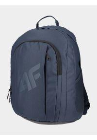 4f - Plecak miejski. Kolor: niebieski