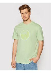 Only & Sons T-Shirt Aca 22019295 Zielony Regular Fit. Kolor: zielony