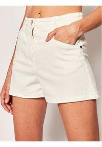 Białe szorty jeansowe Patrizia Pepe