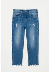 Niebieskie jeansy OVS na co dzień, casualowe