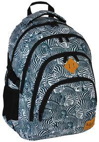 ALWAYS WILD - Plecak szkolny czarny Always Wild HS-15 HASH. Kolor: czarny. Materiał: materiał. Wzór: nadruk, aplikacja. Styl: sportowy #1