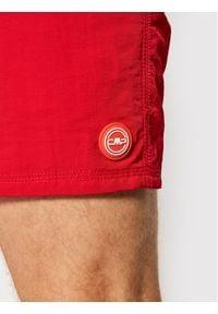 CMP Szorty kąpielowe 3R50027N Czerwony Regular Fit. Kolor: czerwony