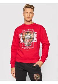 Togoshi Bluza Roar Czerwony Regular Fit. Kolor: czerwony