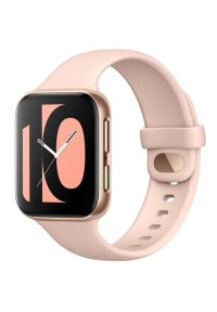 Różowy zegarek OPPO smartwatch, elegancki