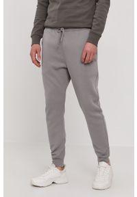 Szare spodnie dresowe G-Star RAW gładkie