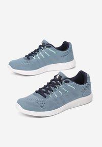 Niebieskie buty sportowe Renee do biegania