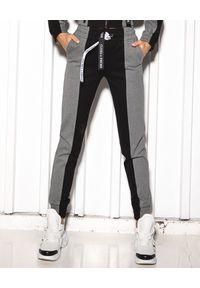 CUORI e PICCHE - Bawełniane spodnie dresowe Gord. Kolor: szary. Materiał: dresówka, bawełna